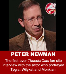 ThunderCats - Peter Newman audio interview