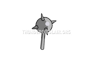 ThunderCats Encyclopedia - spiked mace