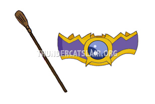 ThunderCats Encyclopedia - Luna's Riding Crop and Queen Luna's Belt