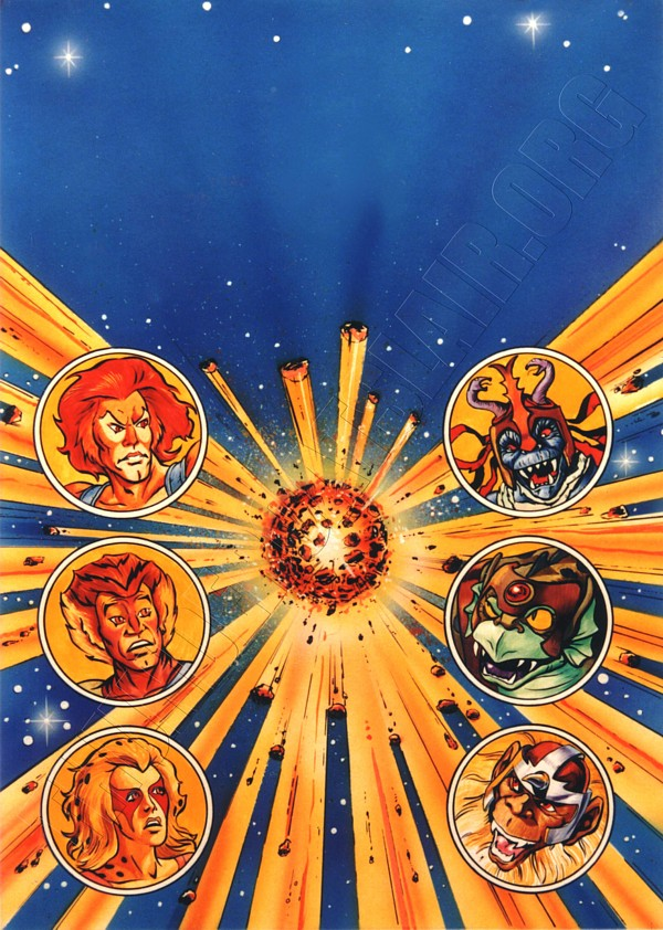 Marvel UK - ThunderCats Issue 1 cover