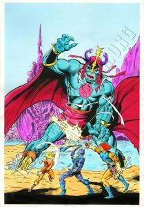 Marvel UK - ThunderCats Issue 7 cover