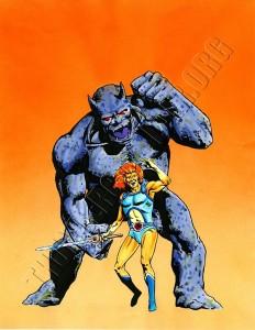 Marvel UK - ThunderCats Issue 8 cover