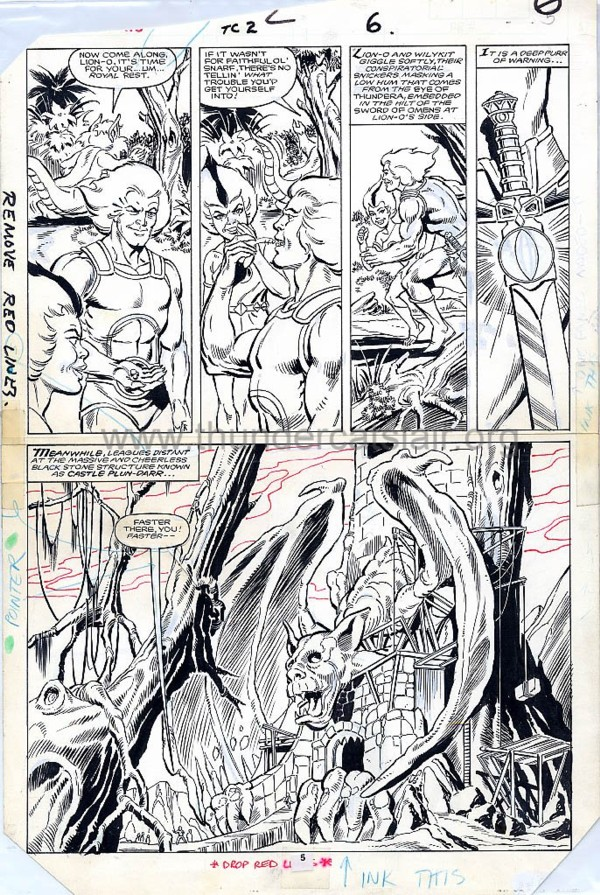 ThunderCats comic art - Marvel (Star) Issue 2, page 6