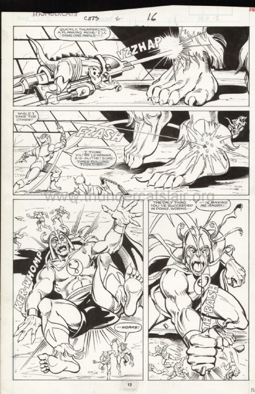 ThunderCats comic art - Marvel (Star) Issue 6, page 16