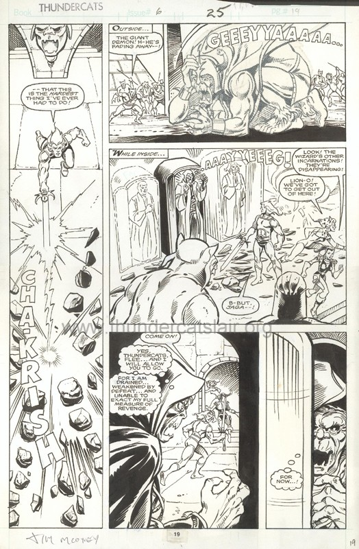 ThunderCats comic art - Marvel (Star) Issue 6, page 25