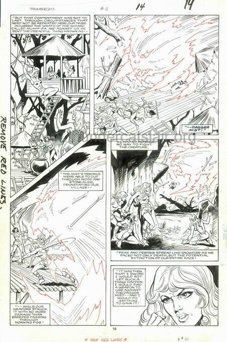 ThunderCats comic art - Marvel (Star) Issue 3, page 14