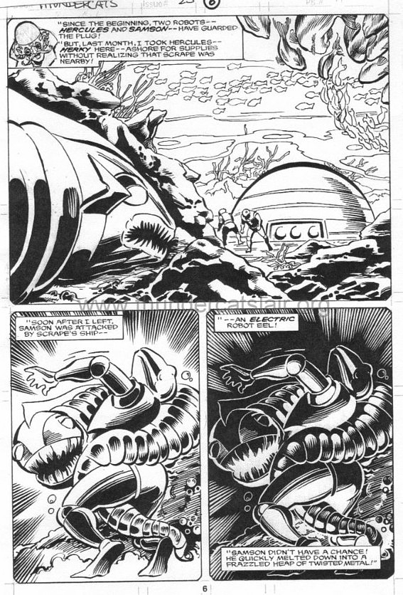 ThunderCats comic art - Marvel (Star) Issue 23, page 6
