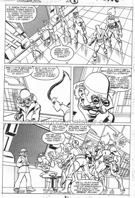 ThunderCats comic art - Marvel (Star) Issue 23, page 8