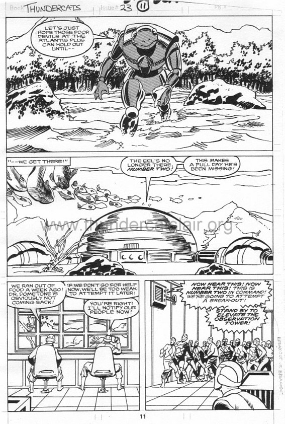 ThunderCats comic art - Marvel (Star) Issue 23, page 11