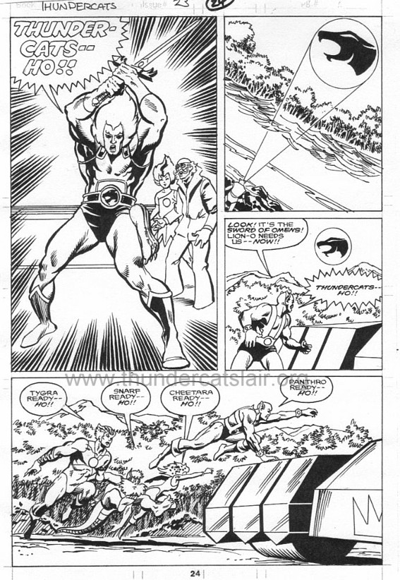 ThunderCats comic art - Marvel (Star) Issue 23, page 24