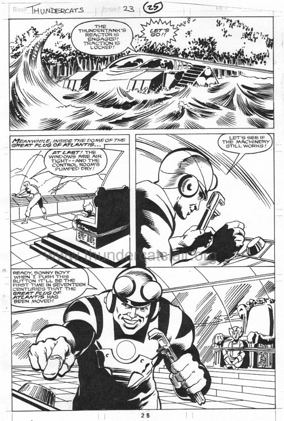 ThunderCats comic art - Marvel (Star) Issue 23, page 25