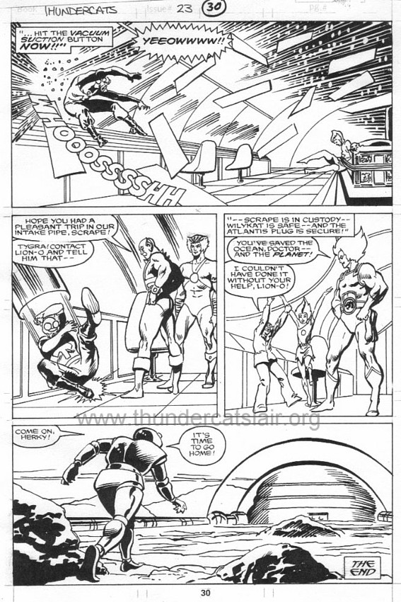 ThunderCats comic art - Marvel (Star) Issue 23, page 30
