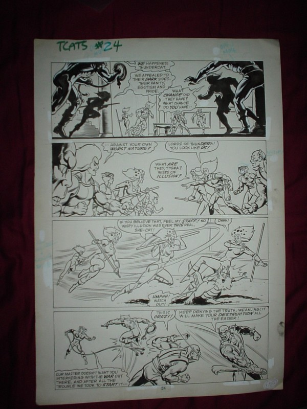 ThunderCats comic art - Marvel (Star) Issue 24, page 24