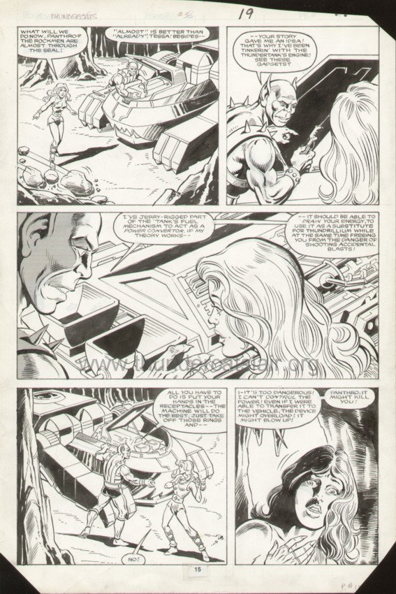 ThunderCats comic art - Marvel (Star) Issue 3, page 19