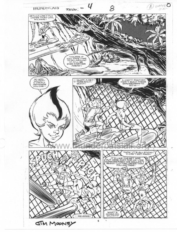 ThunderCats comic art - Star (Marvel) Issue 4, page 8