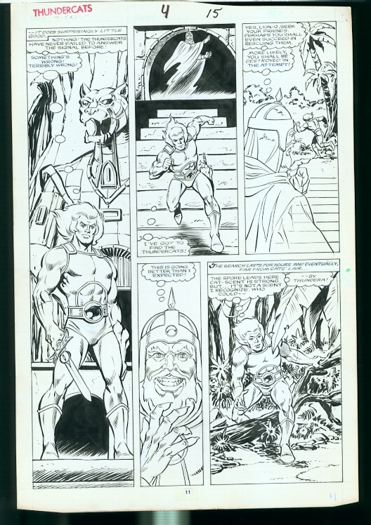 ThunderCats comic art - Marvel (Star) Issue 3, page 15