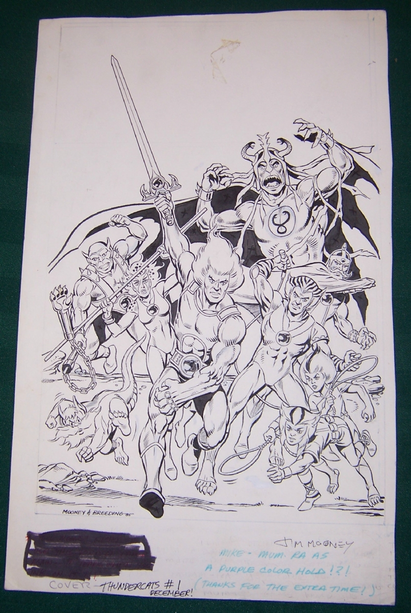 ThunderCats comic artwork - Marvel (Star) Issue 1 - cover