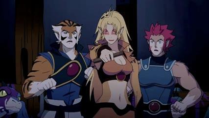 ThunderCats - Tygra, Cheetara and Lion-O