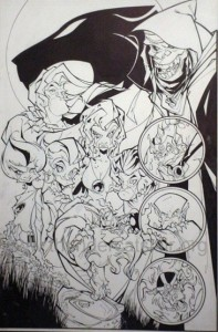 ThunderCats comic art - DC/Wildstorm Issue #0 - Francisco Herrera pin-up