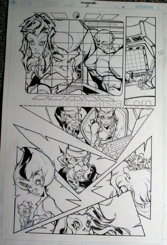 ThunderCats comic art - DC/Wildstorm Issue #3 - Page 11