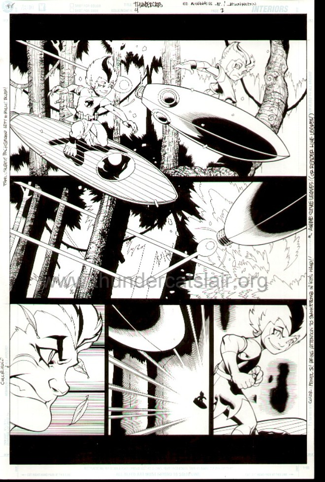 ThunderCats comic art - DC/Wildstorm Issue #4 - Page 2