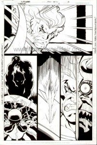 ThunderCats comic art - DC/Wildstorm Issue #4 - Page 19