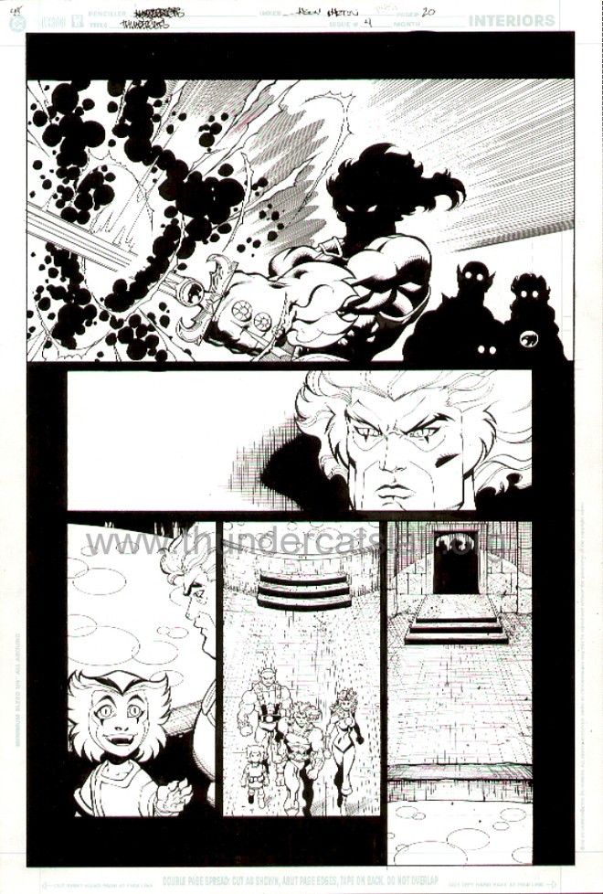 ThunderCats comic art - DC/Wildstorm Issue #4 - Page 20