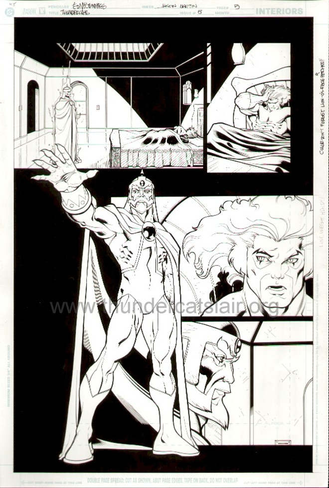 ThunderCats comic art - DC/Wildstorm Issue #5 - Page 5