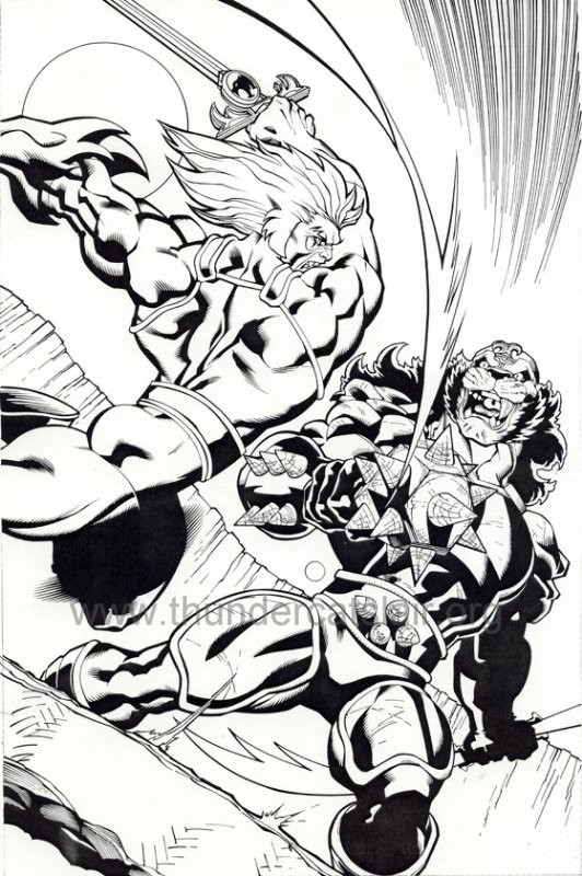 ThunderCats comic art - DC/Wildstorm Issue #5 - Page 14