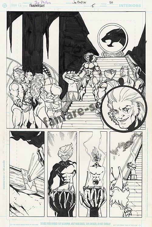 ThunderCats comic art - DC/Wildstorm Issue #5 - Page 20