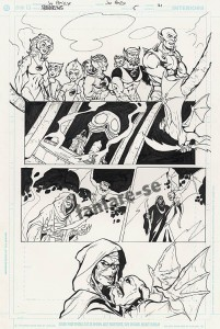 ThunderCats comic art - DC/Wildstorm Issue #5 - Page 21