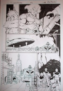 ThunderCats comic art - DC/Wildstorm - The Return Issue #1 - Page 9