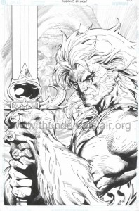 ThunderCats comic art - DC/Wildstorm Issue #2 - Variant Cover