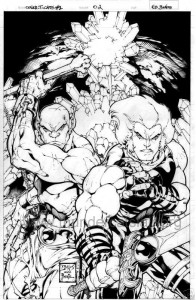 ThunderCats comic art - DC/Wildstorm - The Return Issue #2 - Cover