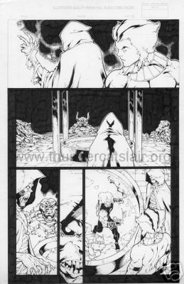 ThunderCats comic art - DC/Wildstorm - The Return Issue #2 - Page 11