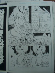 ThunderCats comic art - DC/Wildstorm - The Return Issue #3 - Page 1