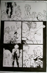ThunderCats comic art - DC/Wildstorm - The Return Issue #3 - Page 20