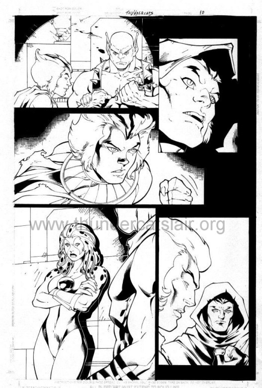 ThunderCats comic art - DC/Wildstorm - The Return Issue #4 - Page 10