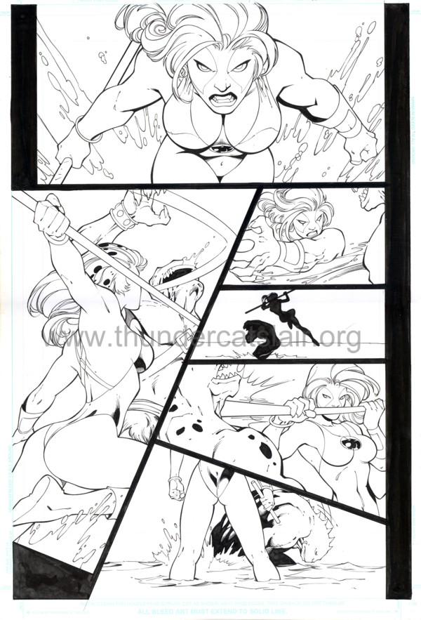 ThunderCats comic art - DC/Wildstorm - The Return Issue #4 - Page 15