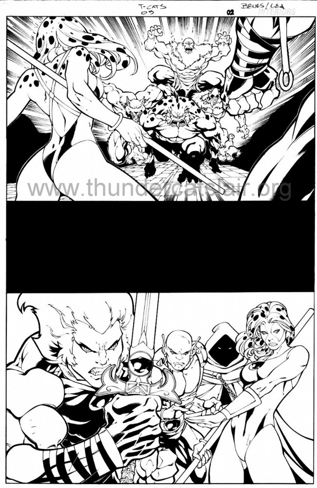 ThunderCats comic art - DC/Wildstorm - The Return Issue #5 - Page 2