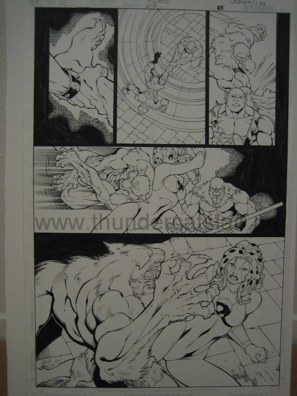 ThunderCats comic art - DC/Wildstorm - The Return Issue #5 - Page 5