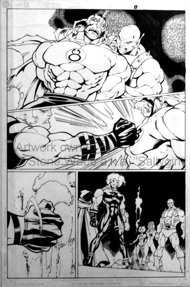 ThunderCats comic art - DC/Wildstorm - The Return Issue #5 - Page 19
