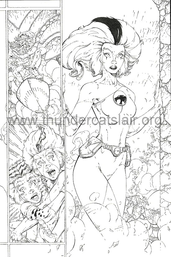 ThunderCats comic art - DC/Wildstorm - Dogs of War Issue #1 - Page 7