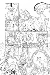 ThunderCats comic art - DC/Wildstorm - Dogs of War Issue #1 - Page 11