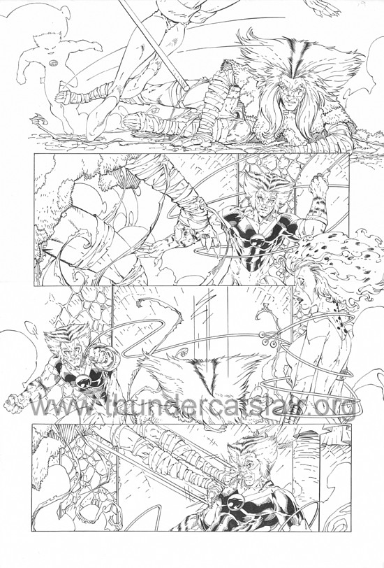 ThunderCats comic art - DC/Wildstorm - Dogs of War Issue #1 - Page 19