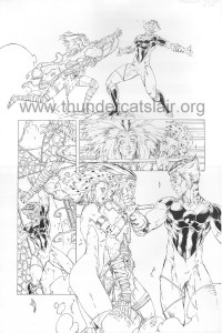 ThunderCats comic art - DC/Wildstorm - Dogs of War Issue #1 - Page 20