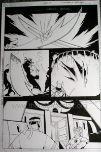 ThunderCats comic art - DC/Wildstorm Issue #2 - Page 3