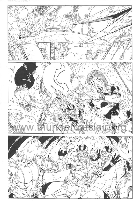ThunderCats comic art - DC/Wildstorm - Dogs of War Issue #2 - Page 1
