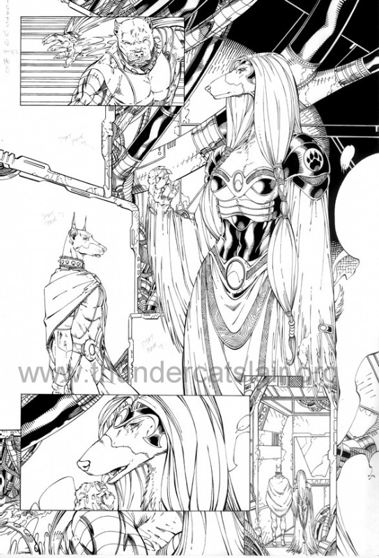 ThunderCats comic art - DC/Wildstorm - Dogs of War Issue #2 - Page 8