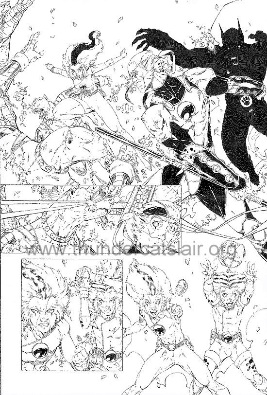 ThunderCats comic art - DC/Wildstorm - Dogs of War Issue #2 - Page 13